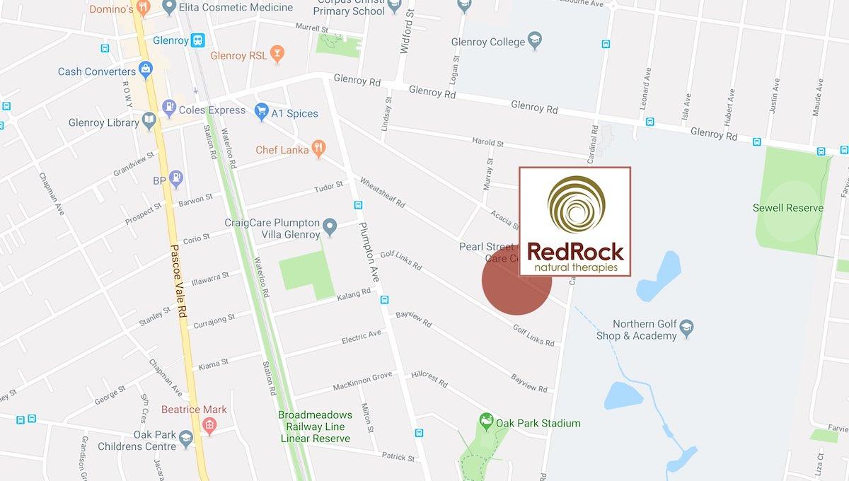 RRNT Glenroy Massage room map